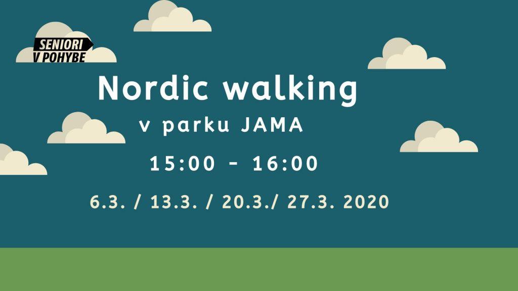 Nordic walking v JAME – zrušený